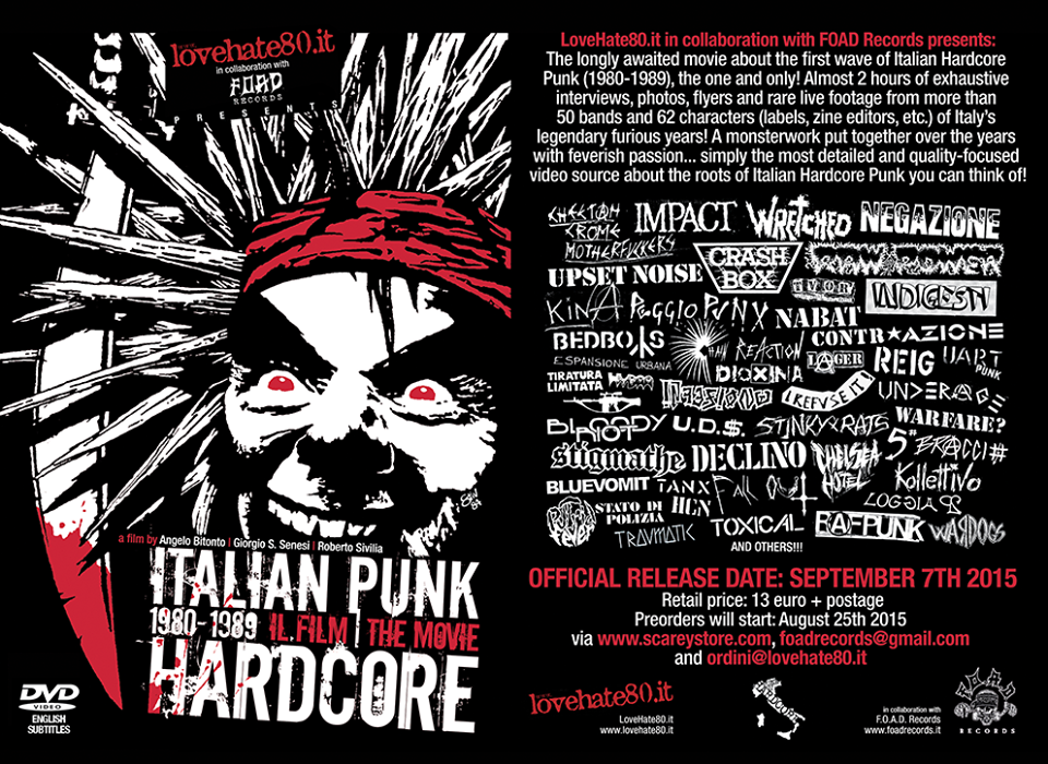 Italian Punk Hardcore Film